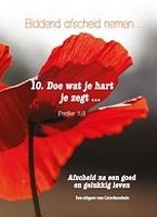10, Biddend afscheid nemen... na een goed en gelukkig leven