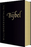 BOEK - Bijbel - Willlibrordvertaling/zwart leer